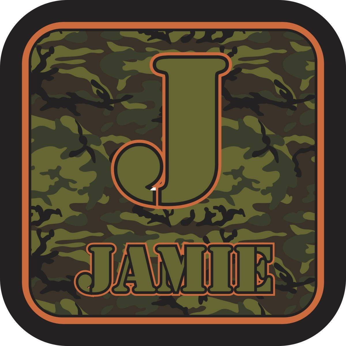 Personalized Green Camo Wall Art | Baby Milano With Latest Camouflage Wall Art (View 11 of 20)