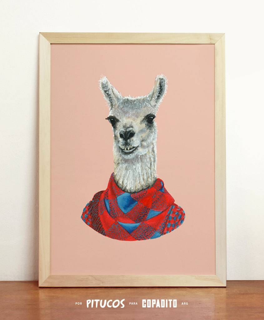 Peruvian Wall Art Unique Llama Wall Art Related Items Etsy – Wall In Current Peruvian Wall Art (View 24 of 30)