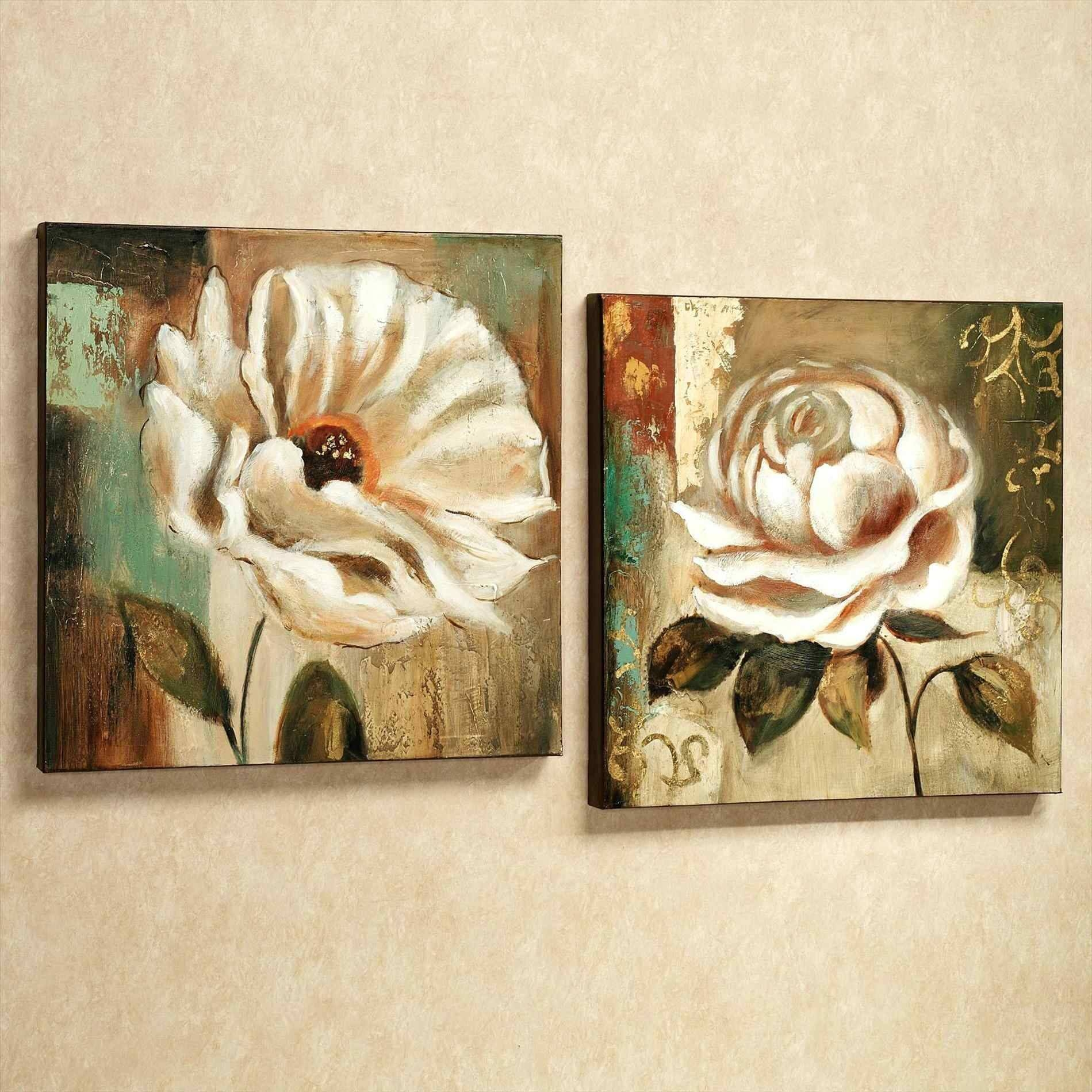 Petals Cheap Wall Art Canvas Sets Of Spring Floral Canvas Wall Art With Recent Cheap Wall & Best 15+ of Cheap Wall Art Canvas Sets