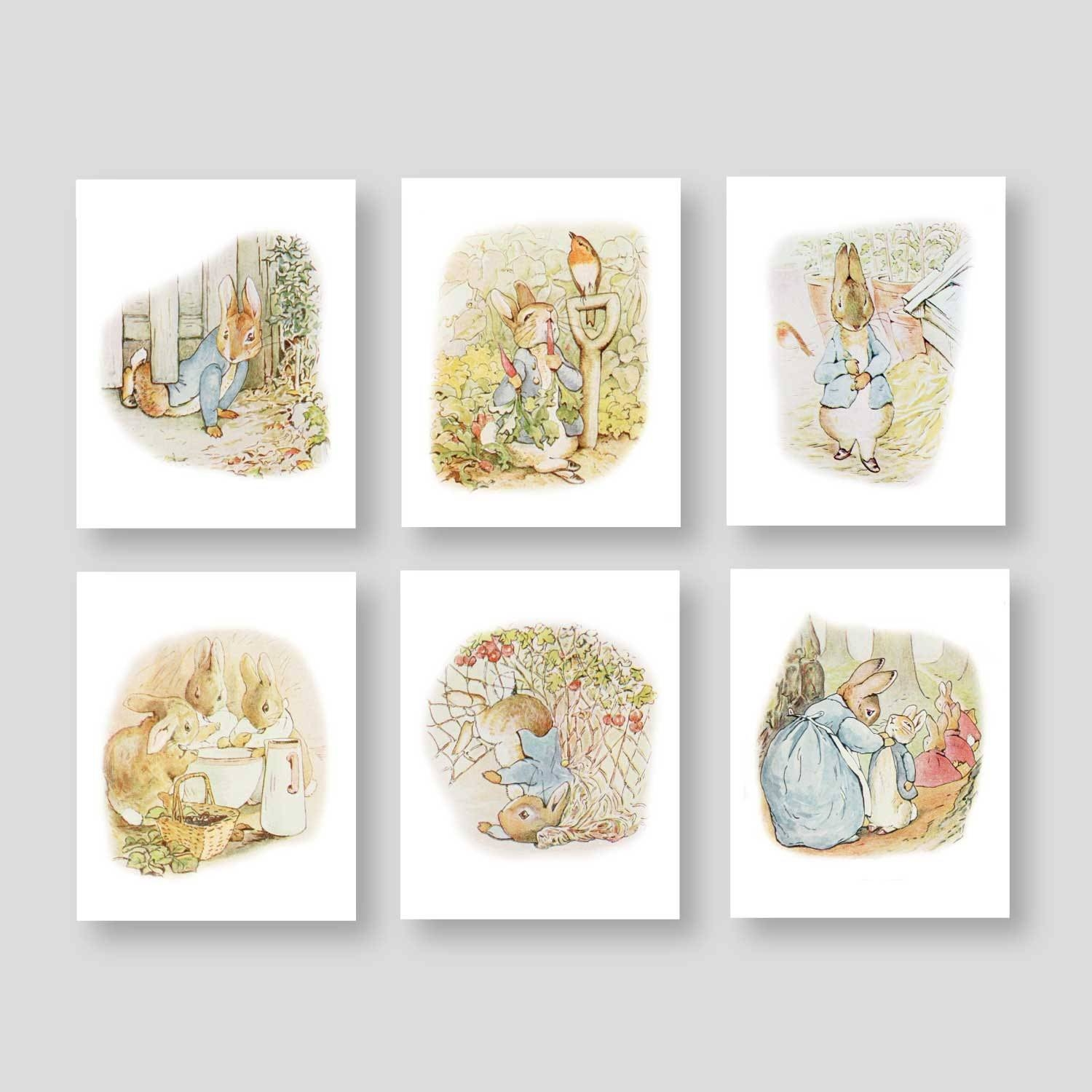 Peter Rabbit Wall Art Peter Rabbit Prints Boy Nursery Decor Within Latest Peter Rabbit Wall Art (View 11 of 15)