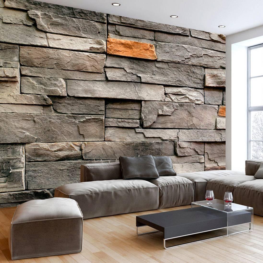 Photo Wallpaper Wall Murals Non Woven 3d Modern Art Optical Throughout Most Popular 3d Brick Wall Art (View 2 of 20)