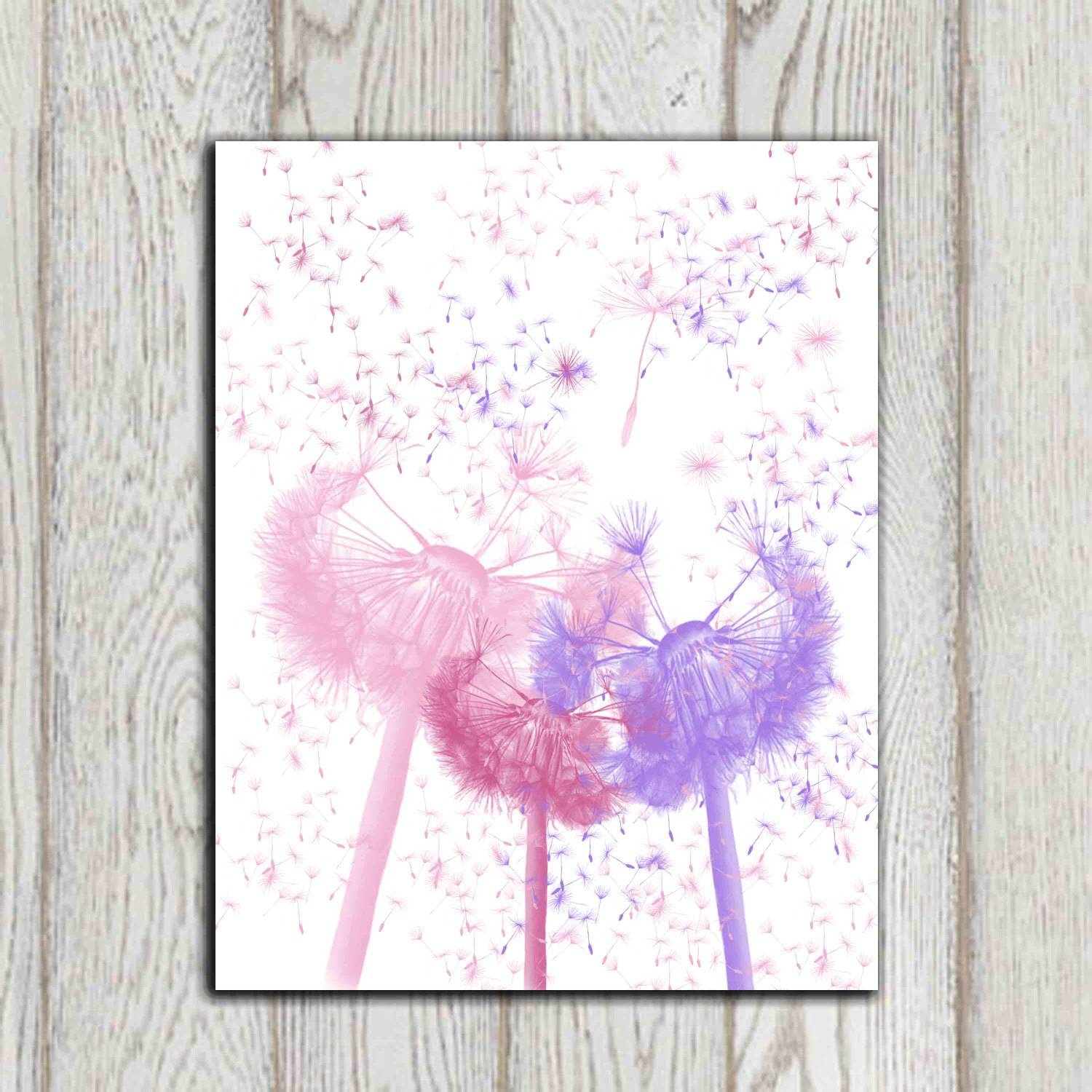 Top 20 of little girl wall art for Pink wall art