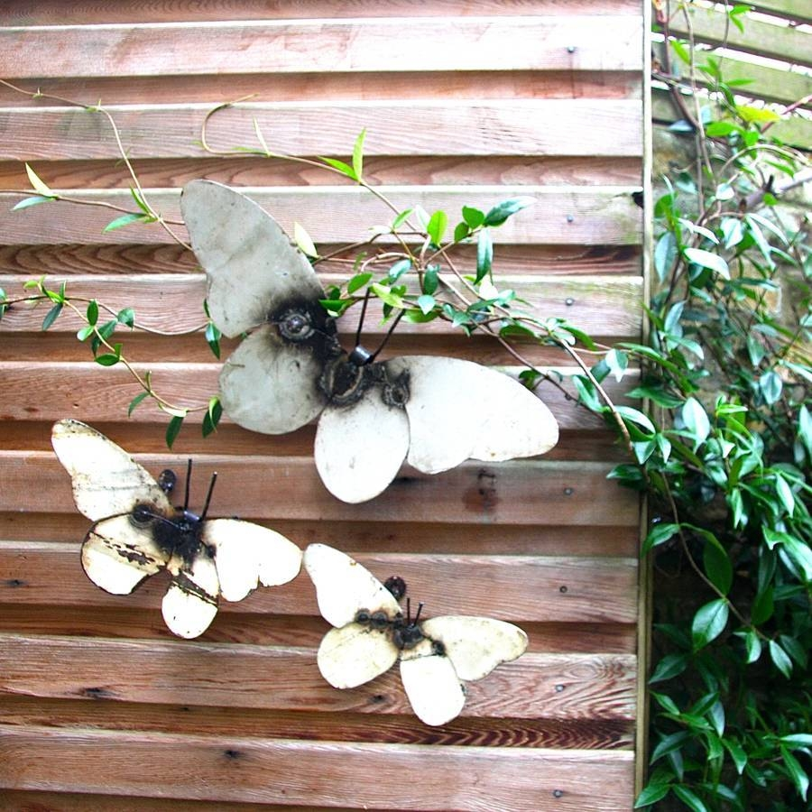 Plain Decoration Garden Wall Art Stylish Idea Garden Wall Art Regarding Recent Garden Wall Art (View 22 of 30)