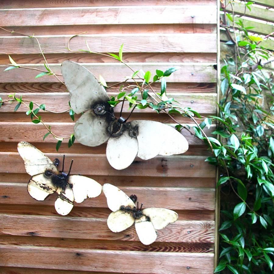 Plain Decoration Garden Wall Art Stylish Idea Garden Wall Art Regarding Recent Garden Wall Art (View 4 of 30)