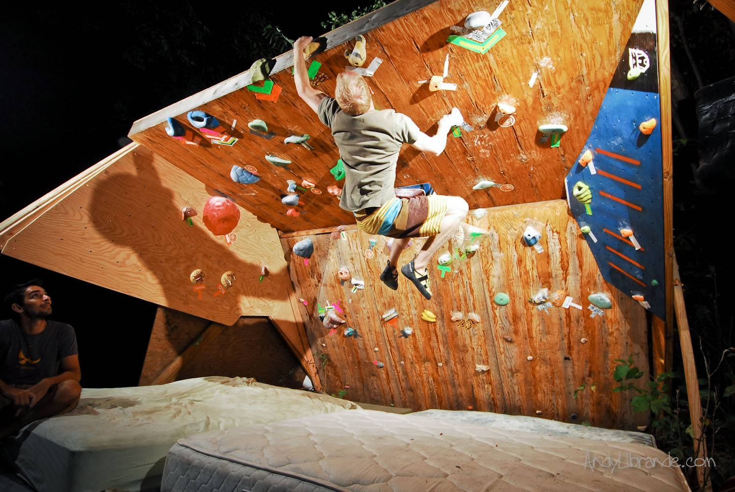 Planning A Climbing Wall » The Home Climbing Wall Resource For 2017 Home Bouldering Wall Design (View 20 of 20)