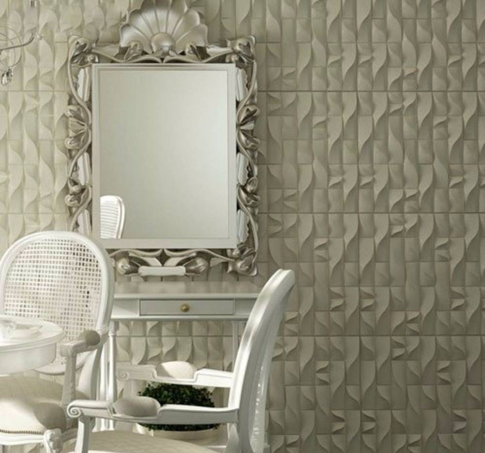 "Plastic Molds Forms 3D Decorative Wall Panels ""vertic"" Price For 1 Throughout Current 3D Plastic Wall Panels (View 15 of 20)"