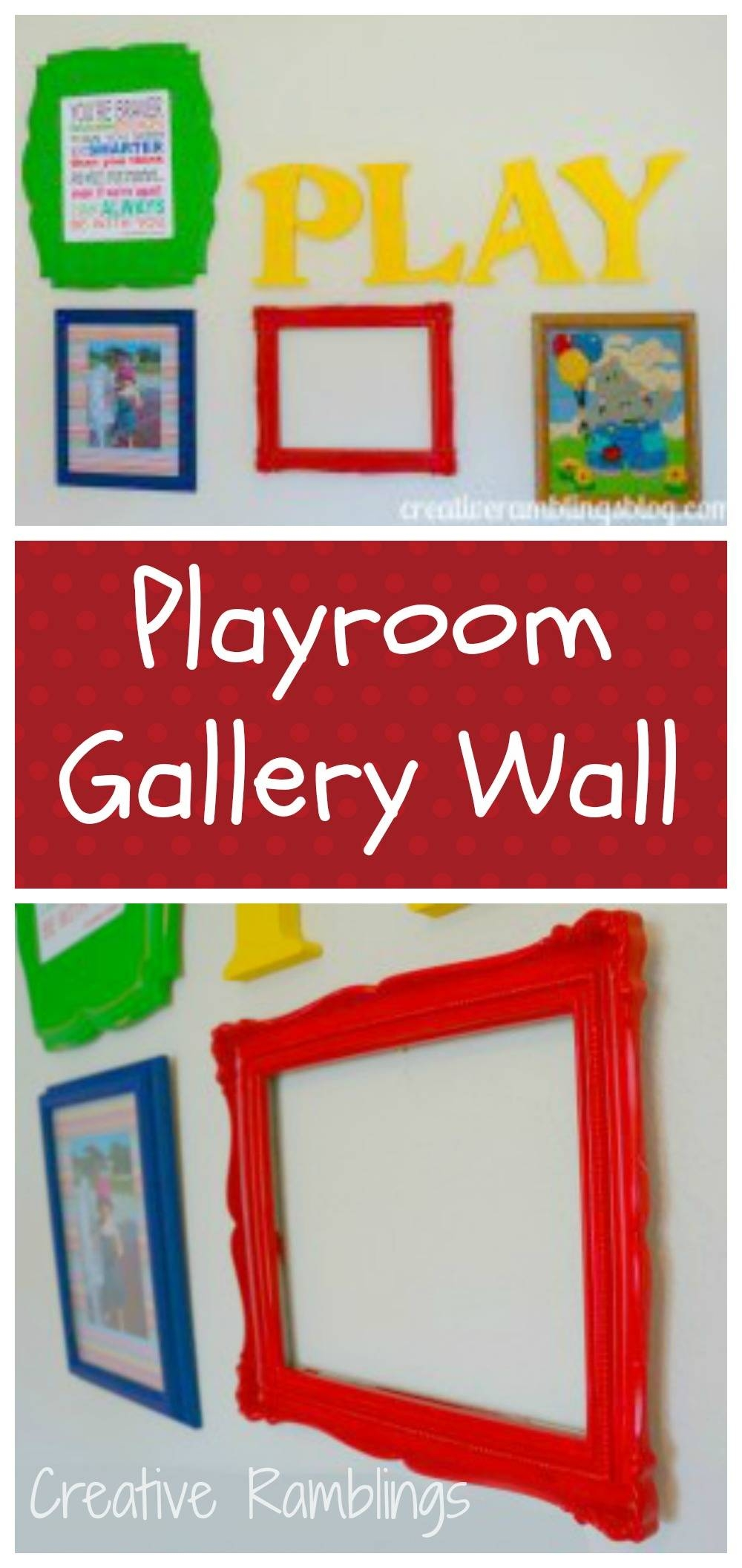 Playroom Wall Art – Creative Ramblings Intended For Most Current Wall Art For Playroom (View 14 of 30)