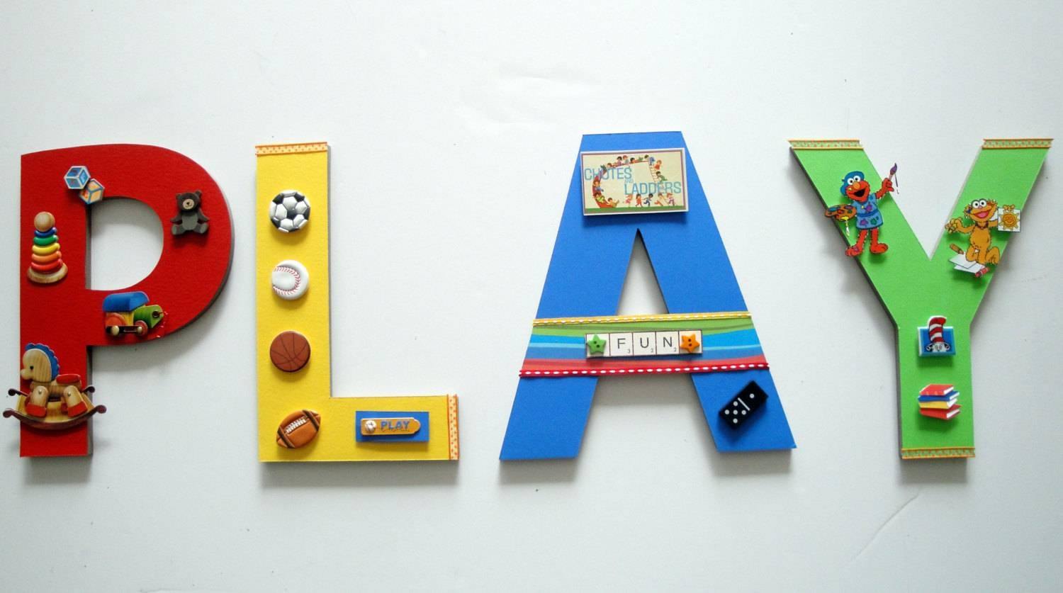 Playroom Wall Letters Playroom Wall Art Toys And Games Wall For Latest Wall Art For Playroom (View 22 of 30)