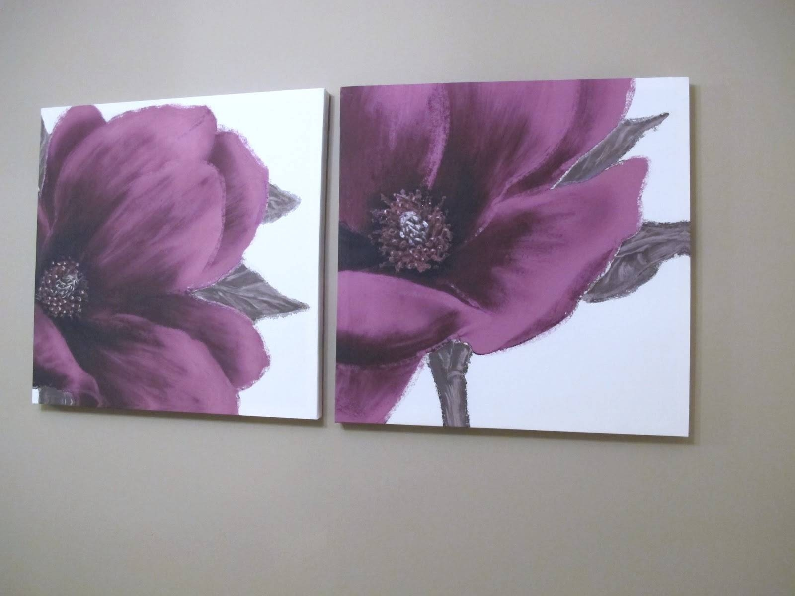 Plum Coloured Canvas Wall Art P Decal Wednesday April ~ Idolza Within Current Plum Coloured Wall Art (View 18 of 20)