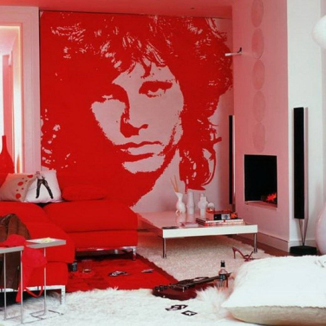 Pop Art Bedroom Design | Ceardoinphoto In Latest Pop Art Wallpaper For Walls (View 12 of 20)