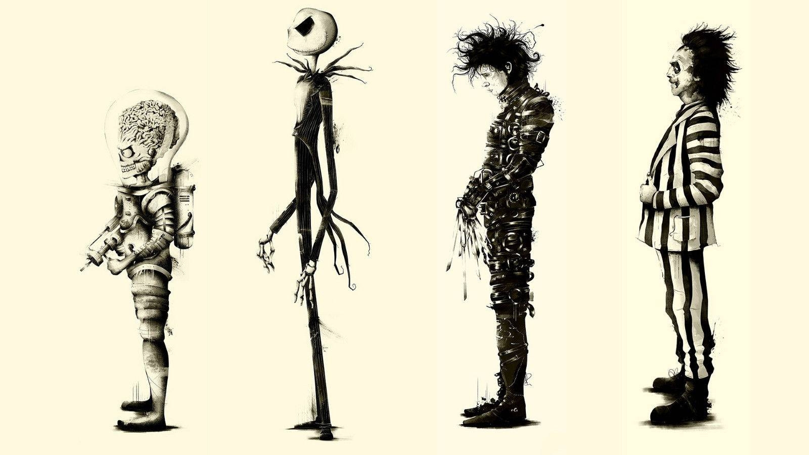 Posters Posters Picture – More Detailed Picture About Tim Burton Throughout 2018 Tim Burton Wall Decals (View 12 of 20)