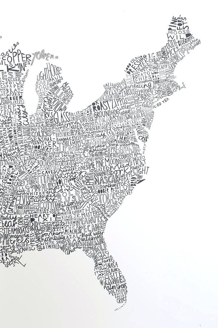 Pottery Barn Us Map Art Luckies Of London Usa Map Wall Art Metal With Most Current Us Map Wall Art (View 6 of 20)