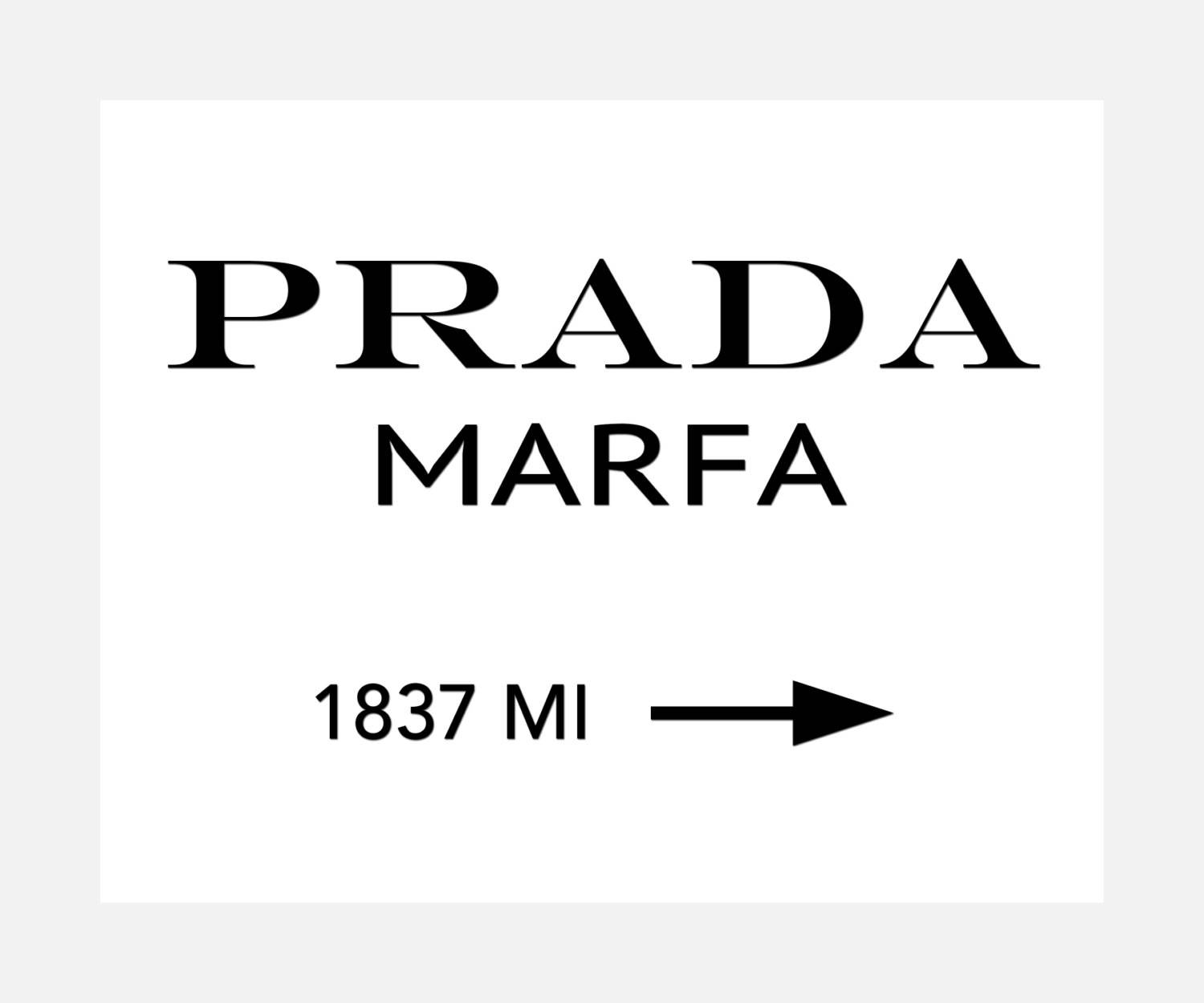 Prada Marfa Ready To Hang Canvas Wrap Or Luster Paper Intended For 2018 Prada Marfa Wall Art (View 17 of 25)