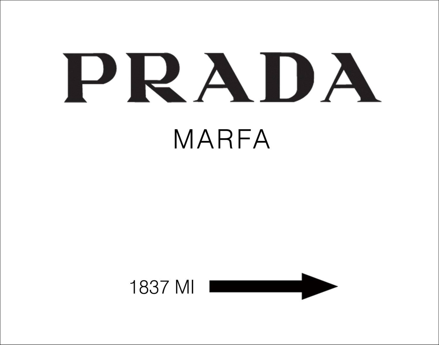 Featured Photo of Prada Wall Art