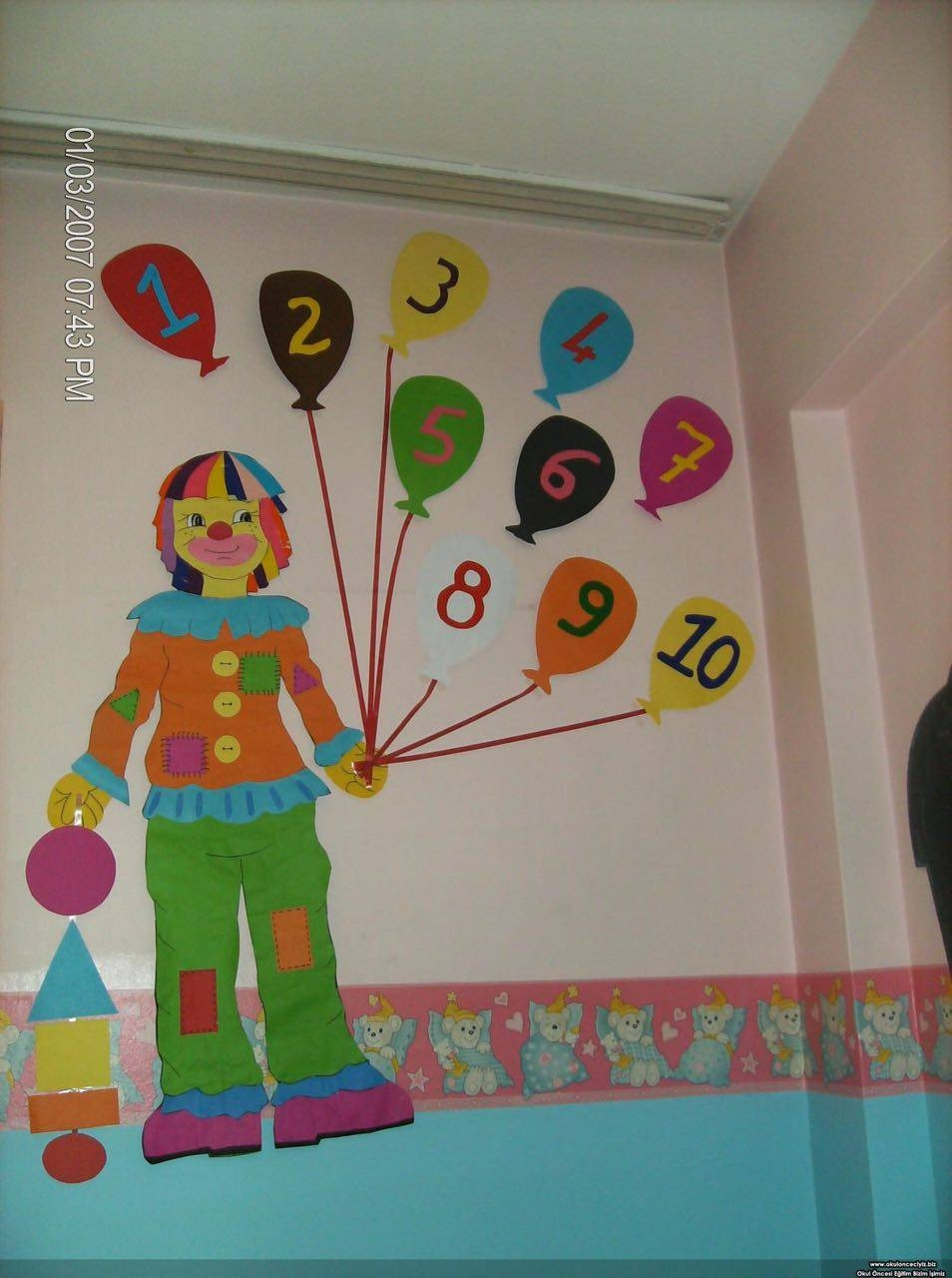 Prescholl Wall Decorations « Funnycrafts Within Current Preschool Wall Decoration (View 22 of 30)
