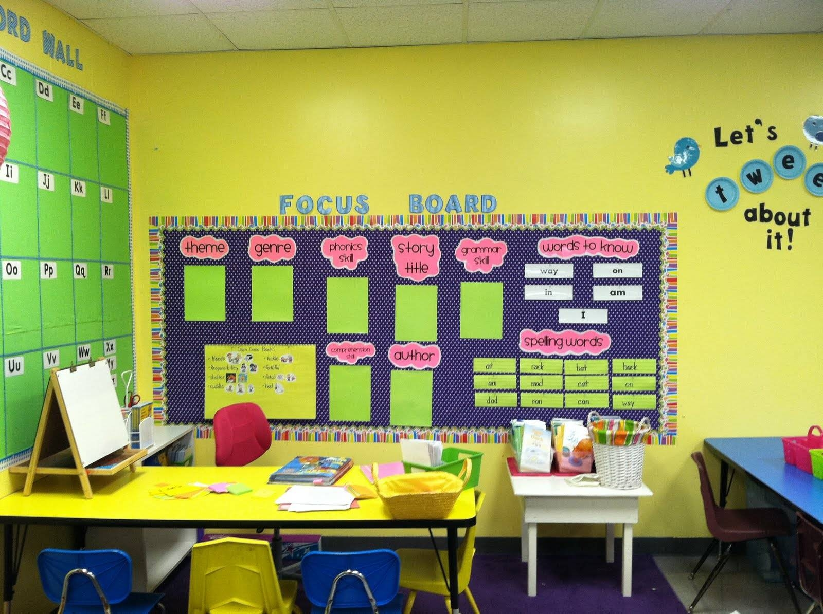 Classroom Decoration Ideas Forno ~ Best of preschool wall decoration