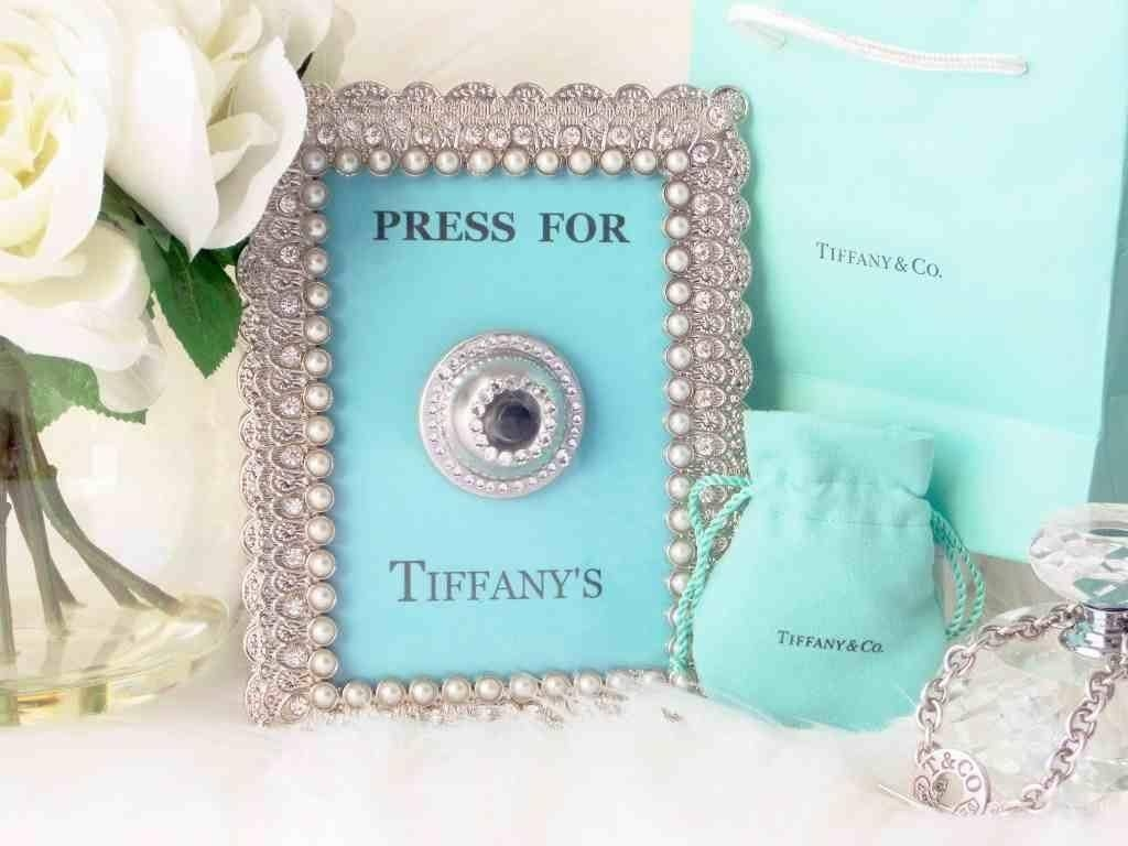 Press For Tiffany's [ Diy Wall Art ] – Youtube For Most Up To Date Tiffany And Co Wall Art (View 6 of 30)