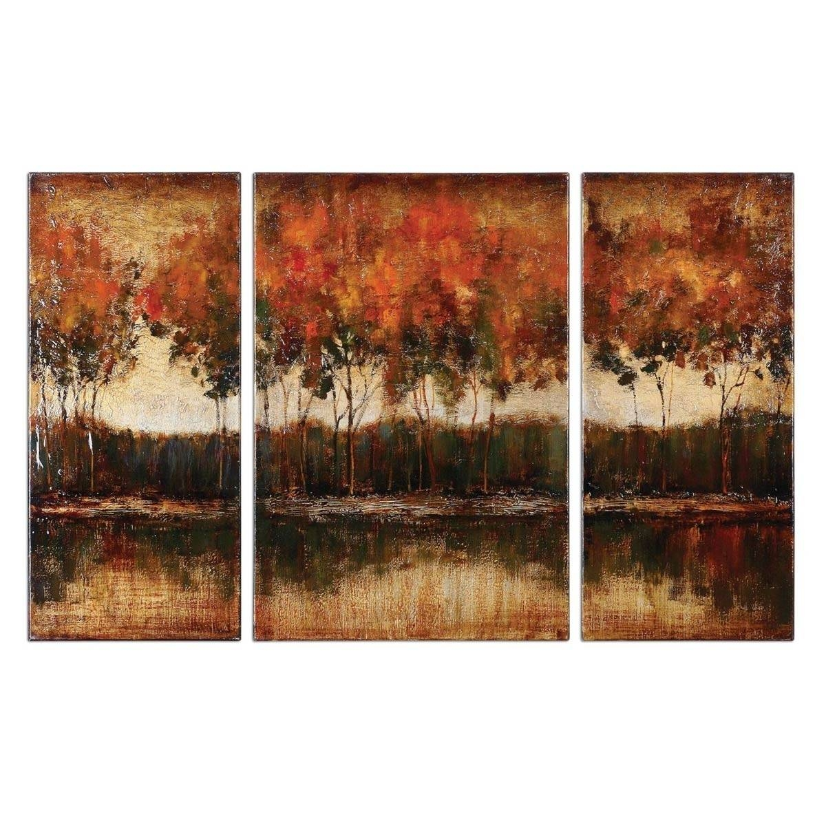 Pretty Canvas Wall Art Sets — The Wooden Houses In Most Up To Date 3 Pc Canvas Wall Art Sets (View 16 of 20)