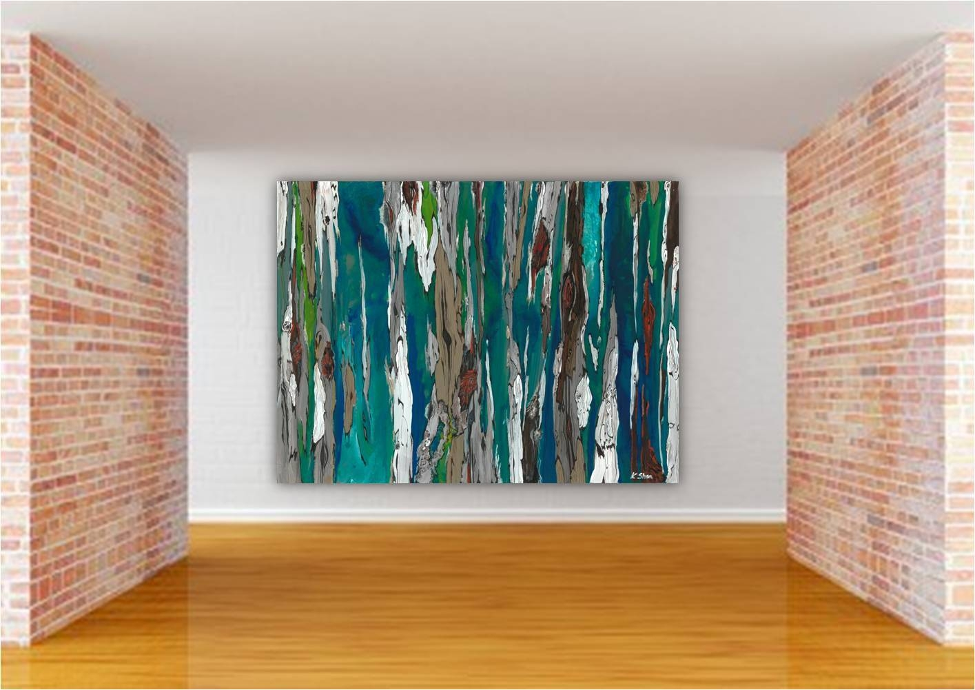 Pretty Canvas Wall Art Sets — The Wooden Houses With 2018 Oversized Abstract Wall Art (View 16 of 20)