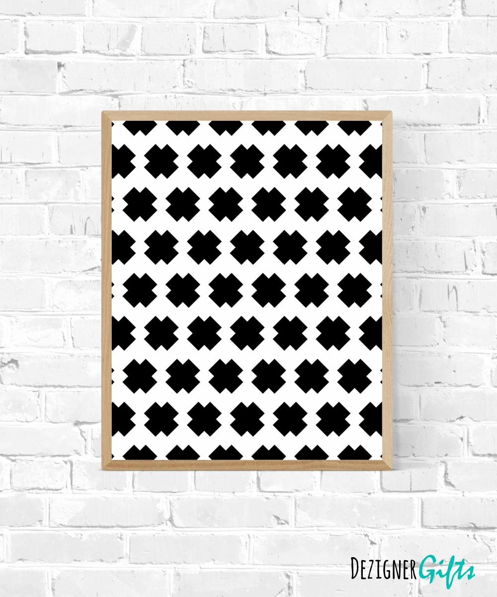 Printable Art | Cross Stitch Pattern | Gallery Wall Print For Most Up To Date Pattern Wall Art (View 4 of 20)