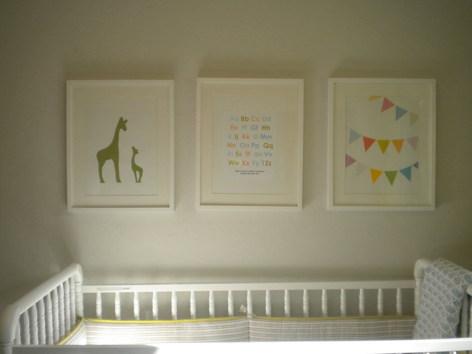 Project Nursery: Nursery Artwork – Home Depot Center In Recent Nursery Framed Wall Art (View 15 of 20)