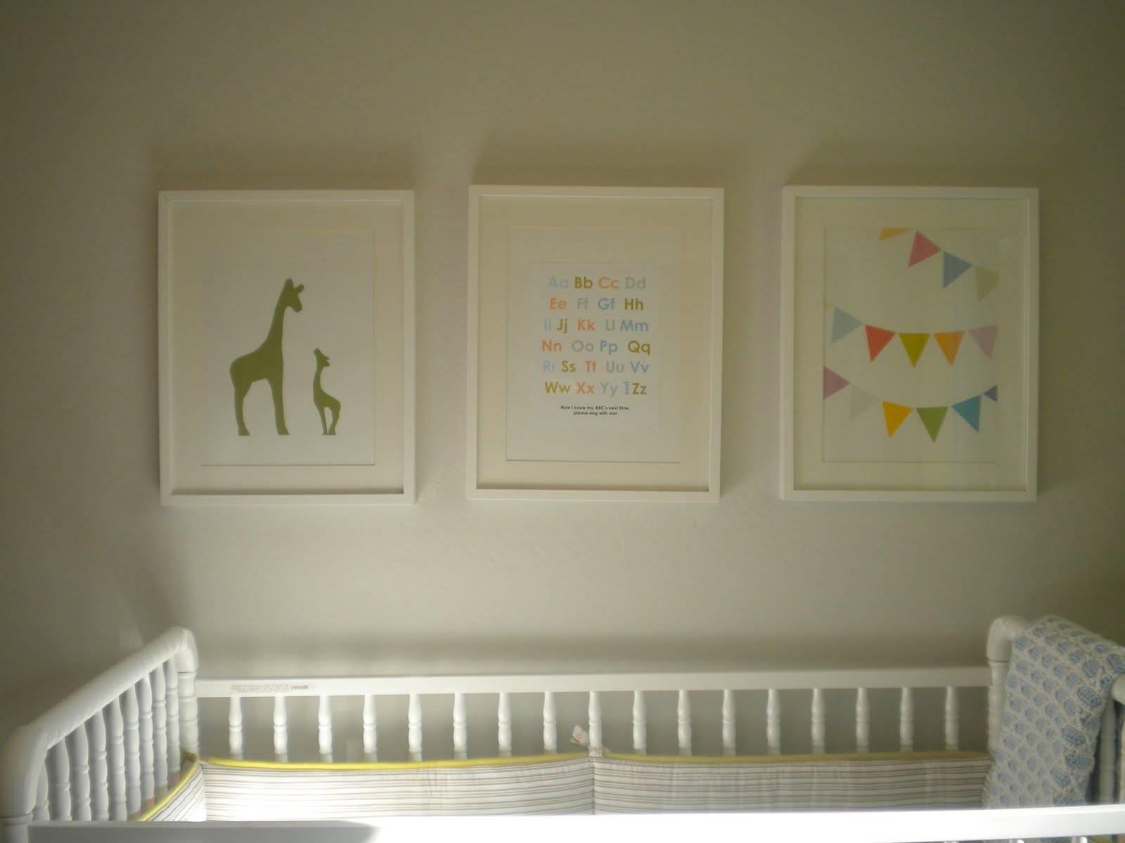 Project Nursery: Nursery Artwork – Home Depot Center In Recent Nursery Framed Wall Art (View 13 of 20)