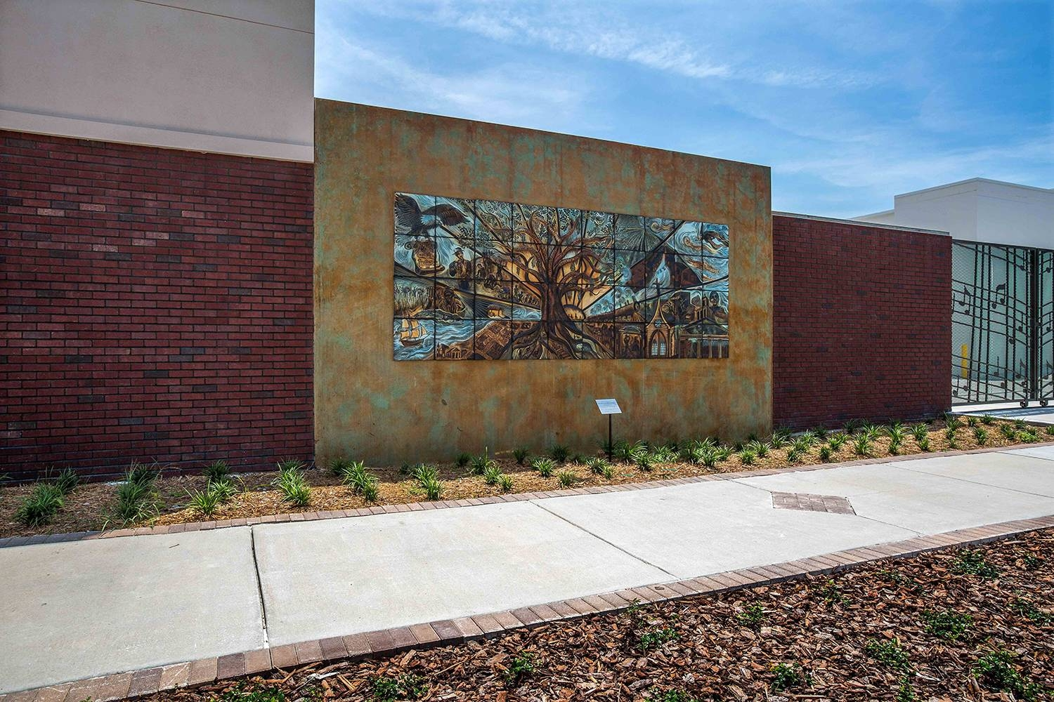 Public Art | Natalie Blake Studios For 2018 Ceramic Tile Wall Art (Gallery 20 of 20)