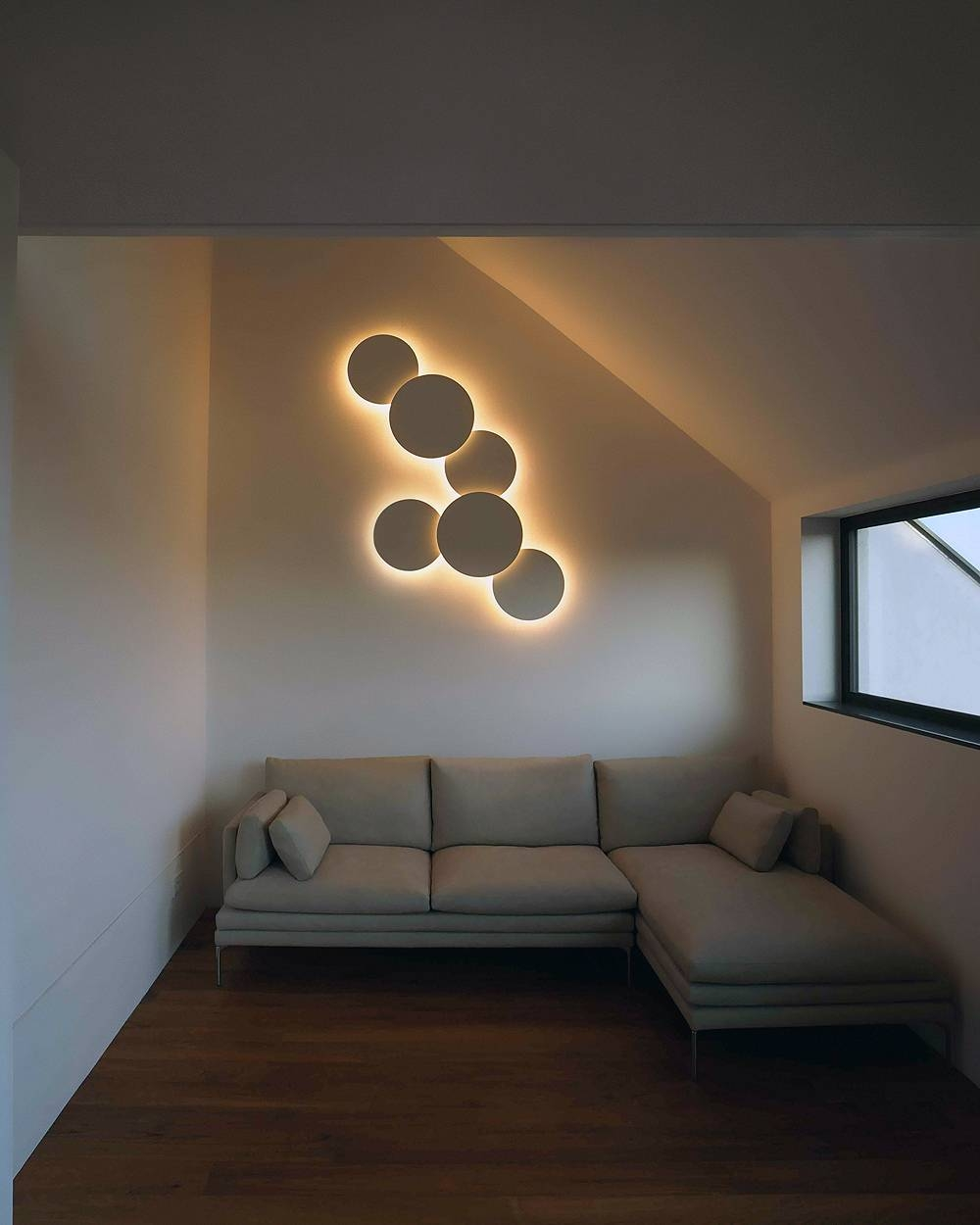 Puck 5468 Wall Art Quadruple Lightvibia | Interior Deluxe Intended For Recent Wall Art Lighting (View 13 of 20)