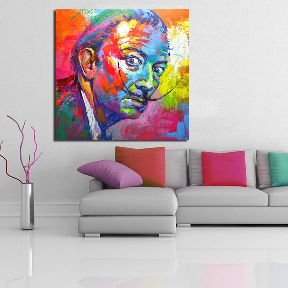 Qcart Salvador Dali Painting Wall Art Picture Home Decor Living Pertaining To Newest Salvador Dali Wall Art (View 13 of 20)