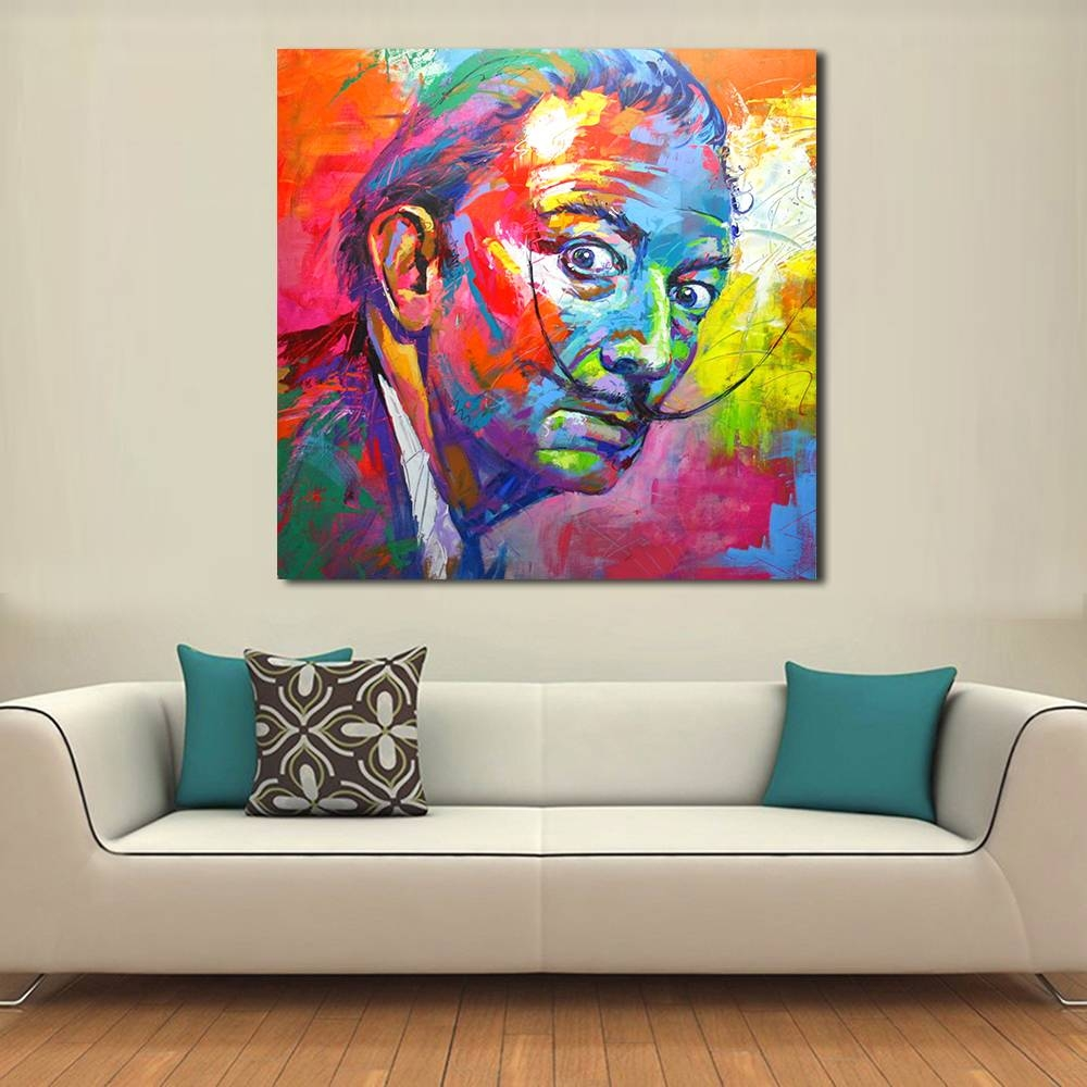 Qcart Salvador Dali Painting Wall Art Picture Home Decor Living With Most Up To Date Salvador Dali Wall Art (View 14 of 20)