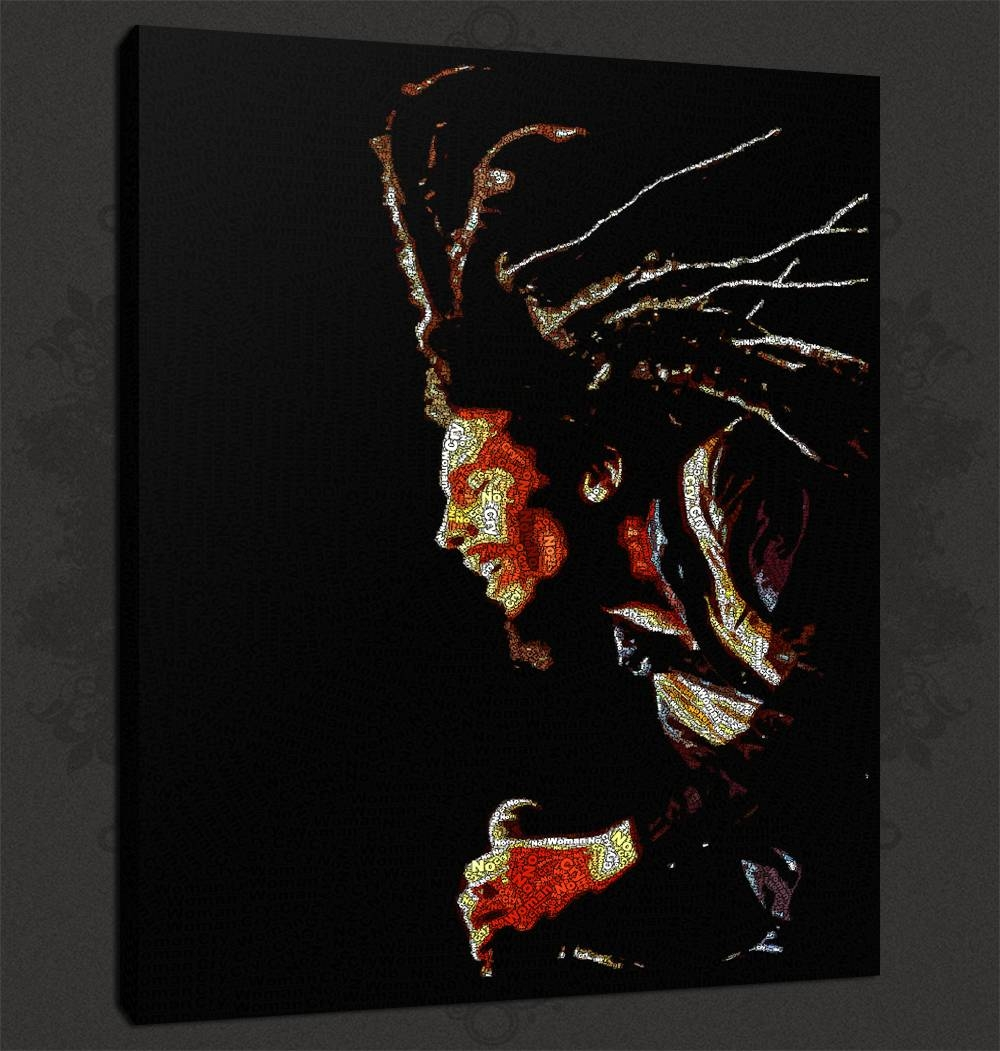 Quality Canvas Print Art With Regard To Most Current Bob Marley Canvas Wall Art (Gallery 3 of 25)