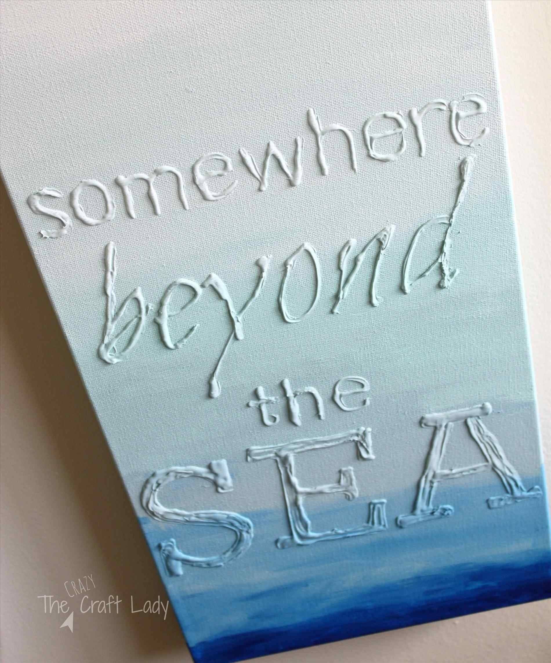 Quotes Diy Art Designs Awesome Diy Canvas Quote Youtube Diy Canvas Throughout Most Current Diy Canvas Wall Art Quotes (Gallery 5 of 20)