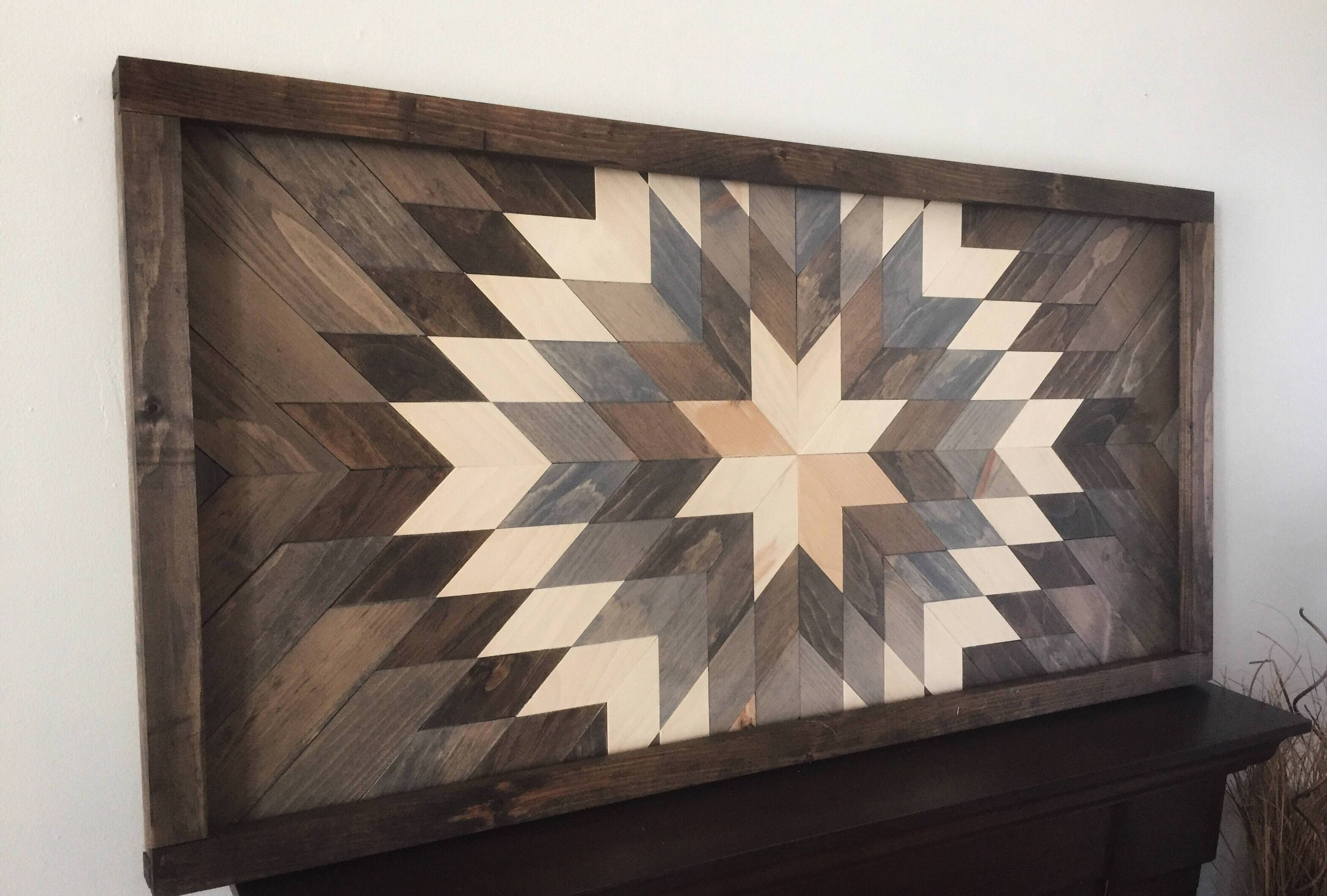 Reclaimed Wood Wall Art – Sunburst In Gray – Dark Frame Pertaining To Most Up To Date Dark Wood Wall Art (View 6 of 15)