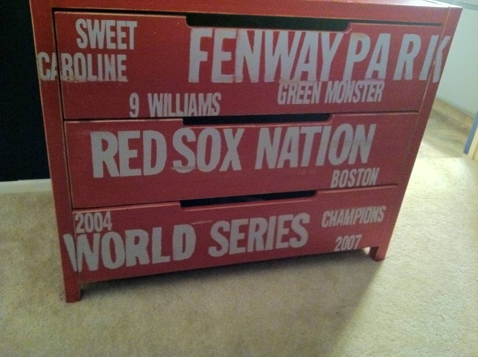 Red Sox Bedroom Boston Wall Decals – Inside Smiths Room Mix In Most Popular Red Sox Wall Decals (View 19 of 30)