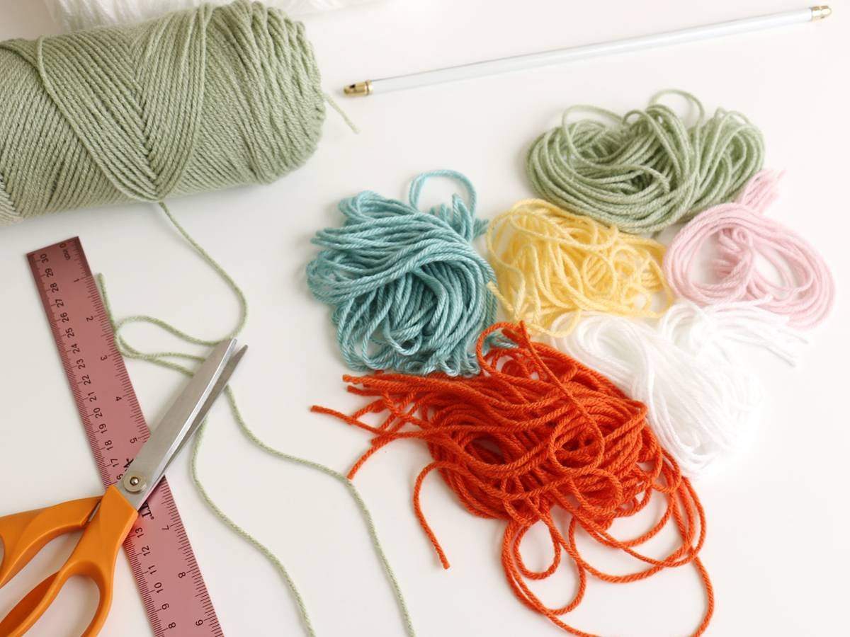 Redecorate Your Bedroom: Diy Yarn Wall Art | Rent A Center | Front Intended For Recent Red And Turquoise Wall Art (View 16 of 20)