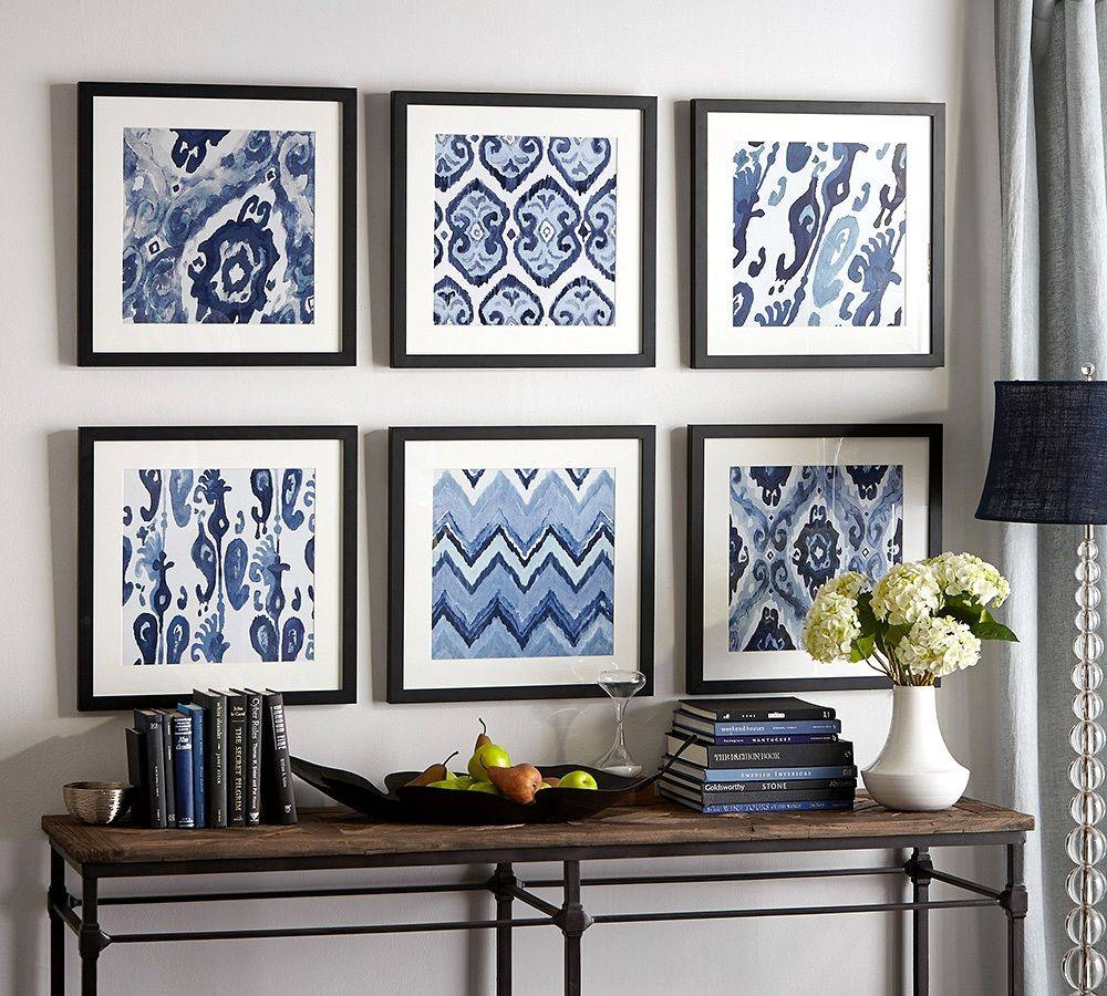 Refresh Your Home With Wall Art Within Current Blue And White Wall Art (View 11 of 20)