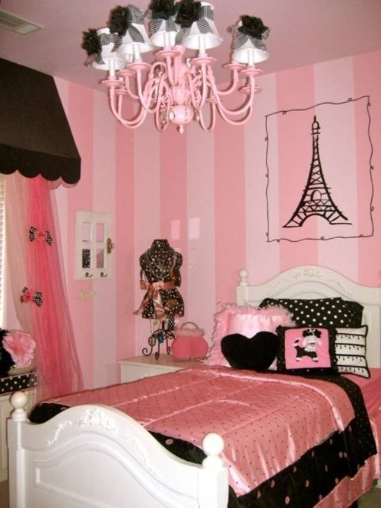 Regaling Teenage Girls Shining Home Design Together With Paris Me In Most Popular Paris Theme Nursery Wall Art (Gallery 17 of 30)