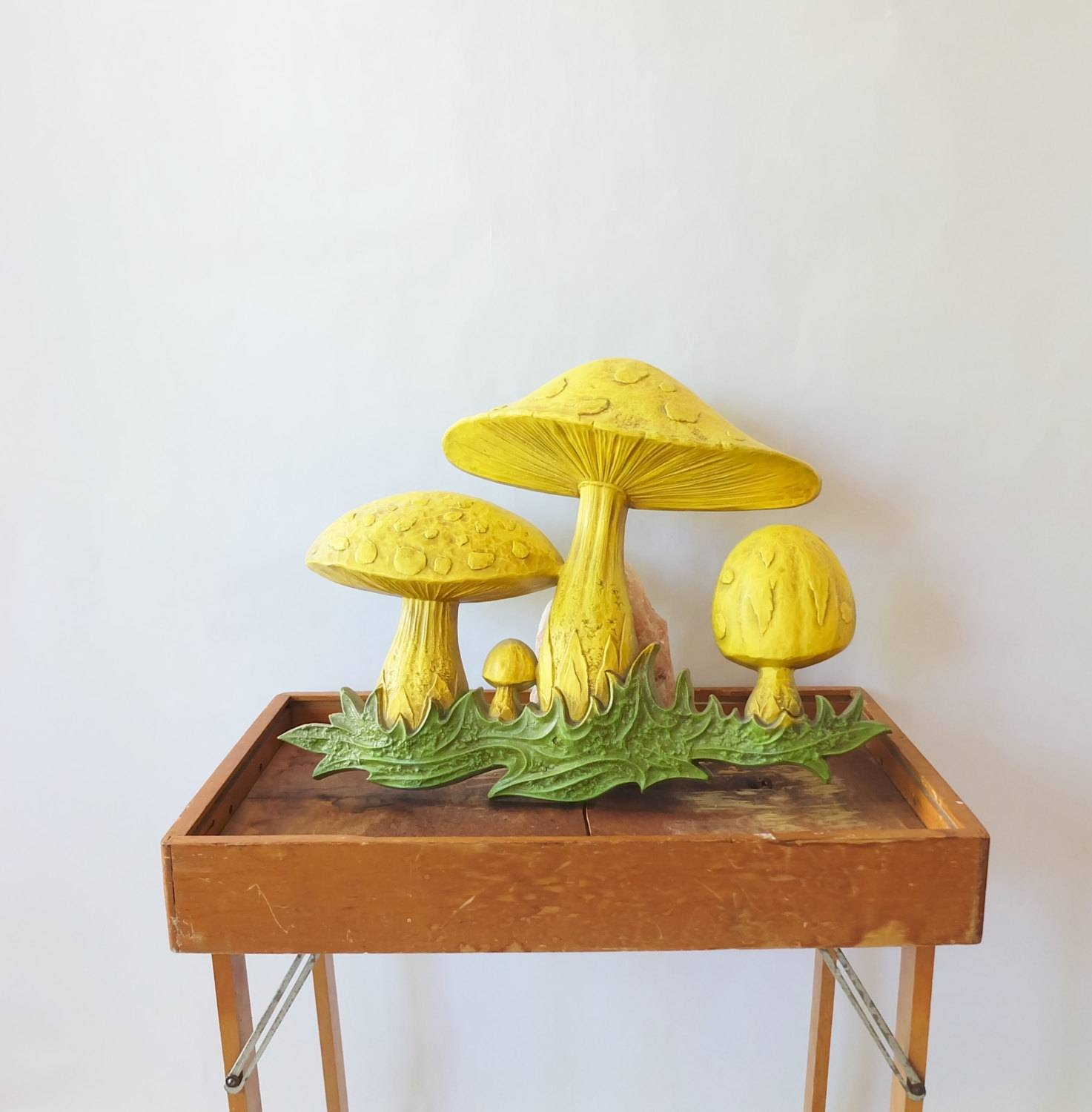 Retro 1960S 1970S Vintage Mushroom Wall Hanging, Retro Wall Art Inside Best And Newest Mushroom Wall Art (View 6 of 20)
