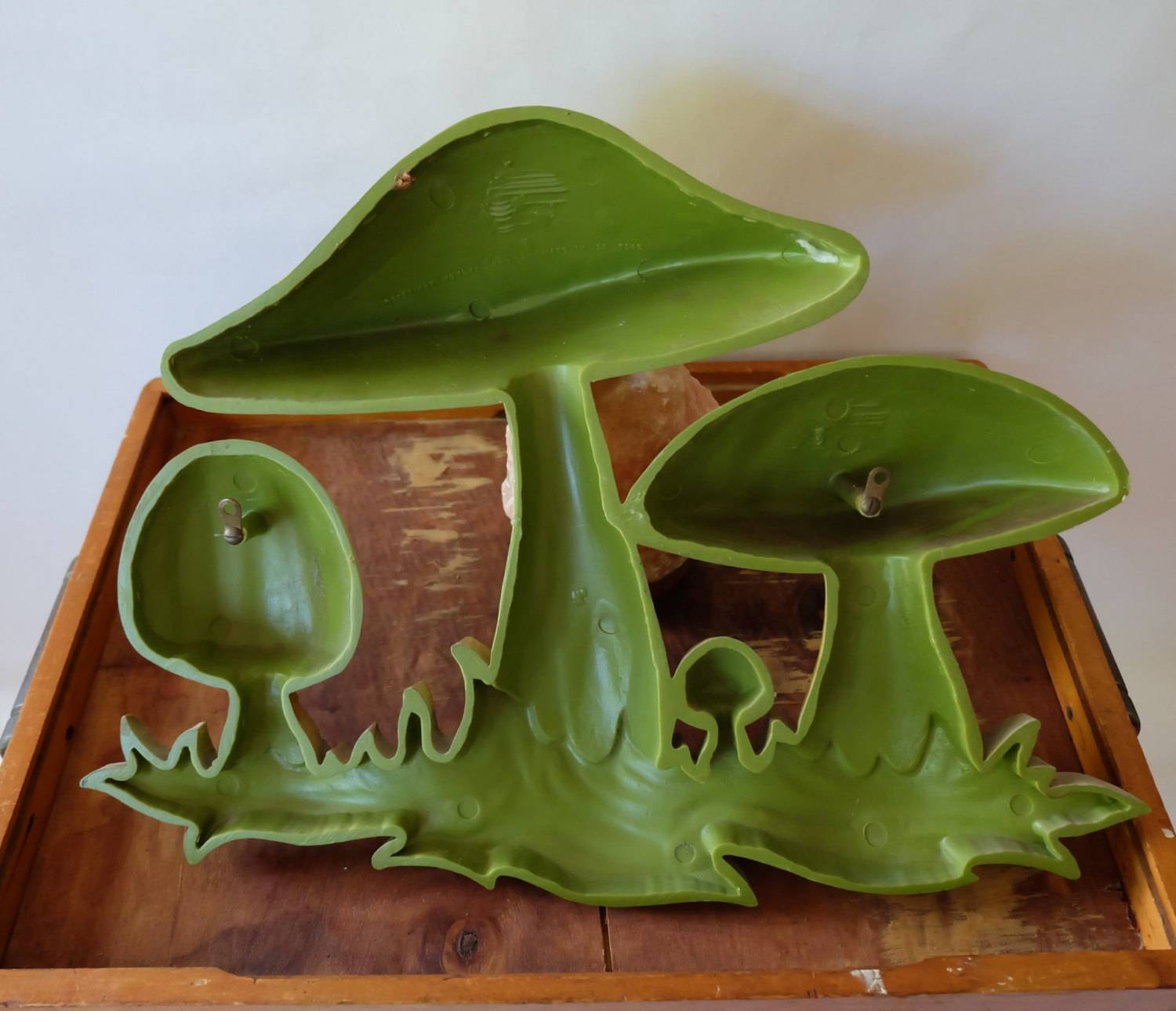 Retro 1960S 1970S Vintage Mushroom Wall Hanging, Retro Wall Art Within Best And Newest Mushroom Wall Art (View 10 of 20)