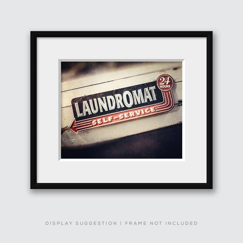 Retro Laundromat • Lisa Russo Fine Art Photography With Regard To Recent Laundry Room Wall Art (Gallery 26 of 30)