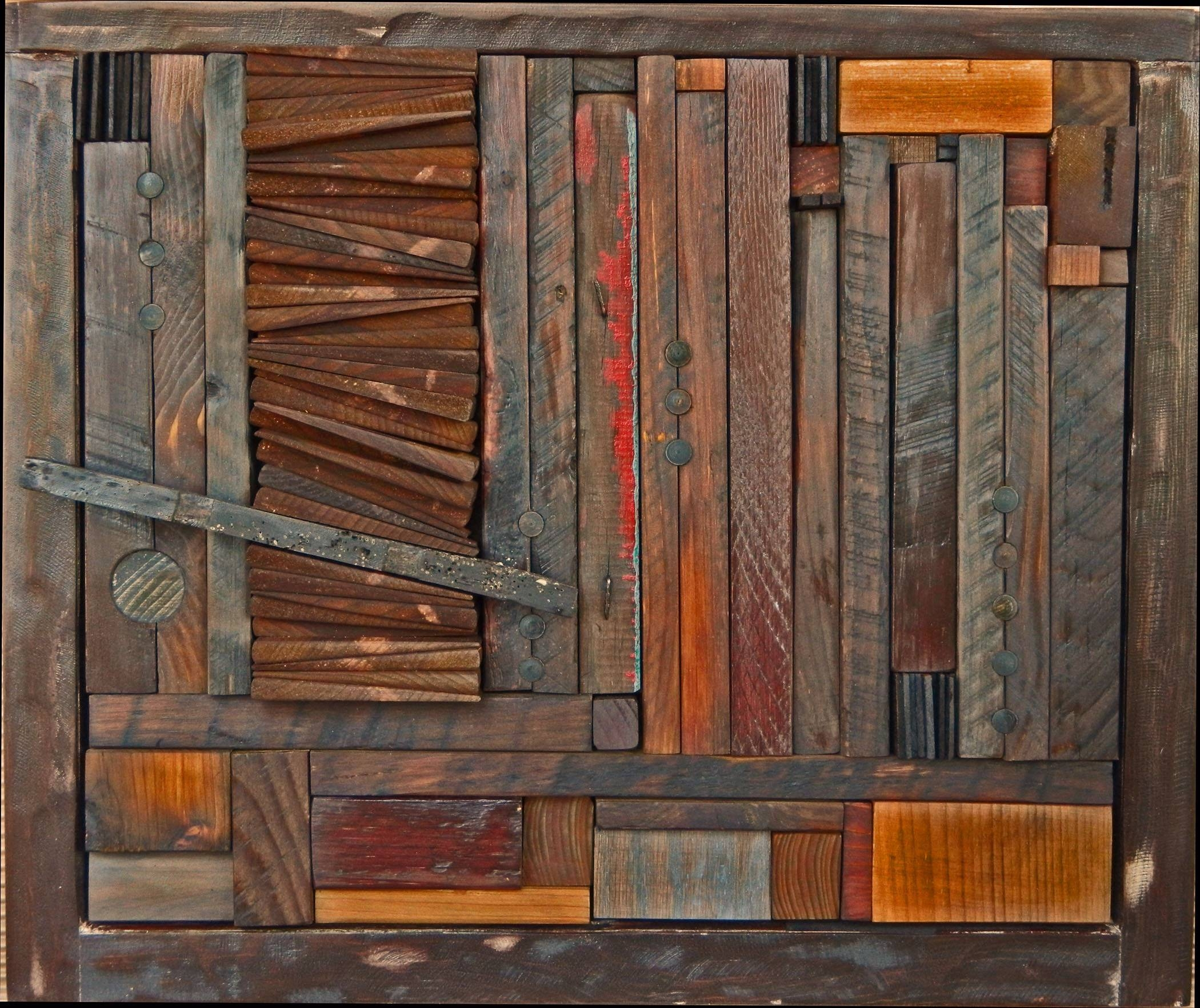 Rising Downheather Patterson (Wood Wall Sculpture) | Artful Home In Latest Wood Wall Art (View 16 of 25)