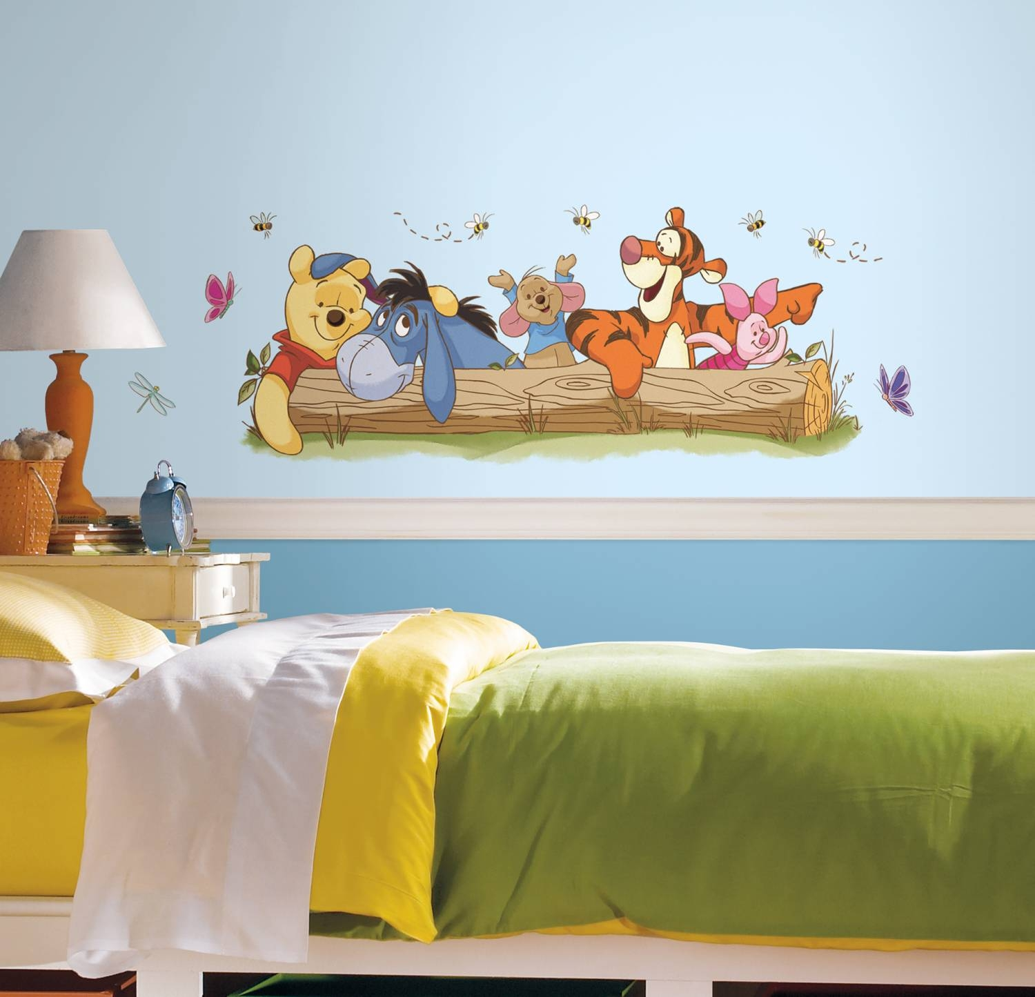 Rmk2553Gm Winnie The Pooh – Outdoor Fun Giant Wall Sticker Pertaining To Most Current Winnie The Pooh Wall Decor (Gallery 3 of 20)