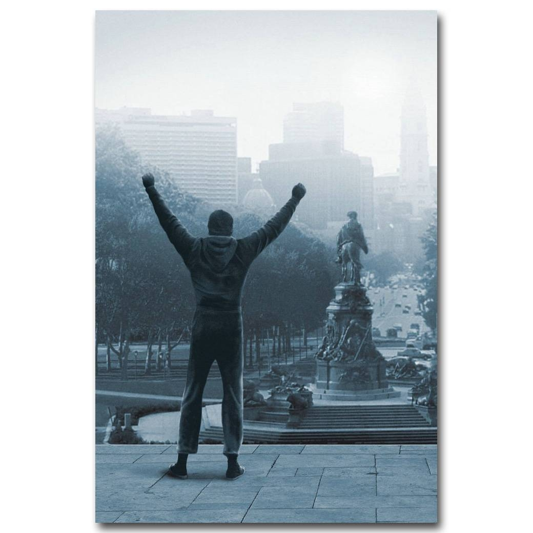 Rocky Balboa Boxing Art Silk Poster Print 13X20 Inch Motivational With Most Recently Released Rocky Balboa Wall Art (View 8 of 20)