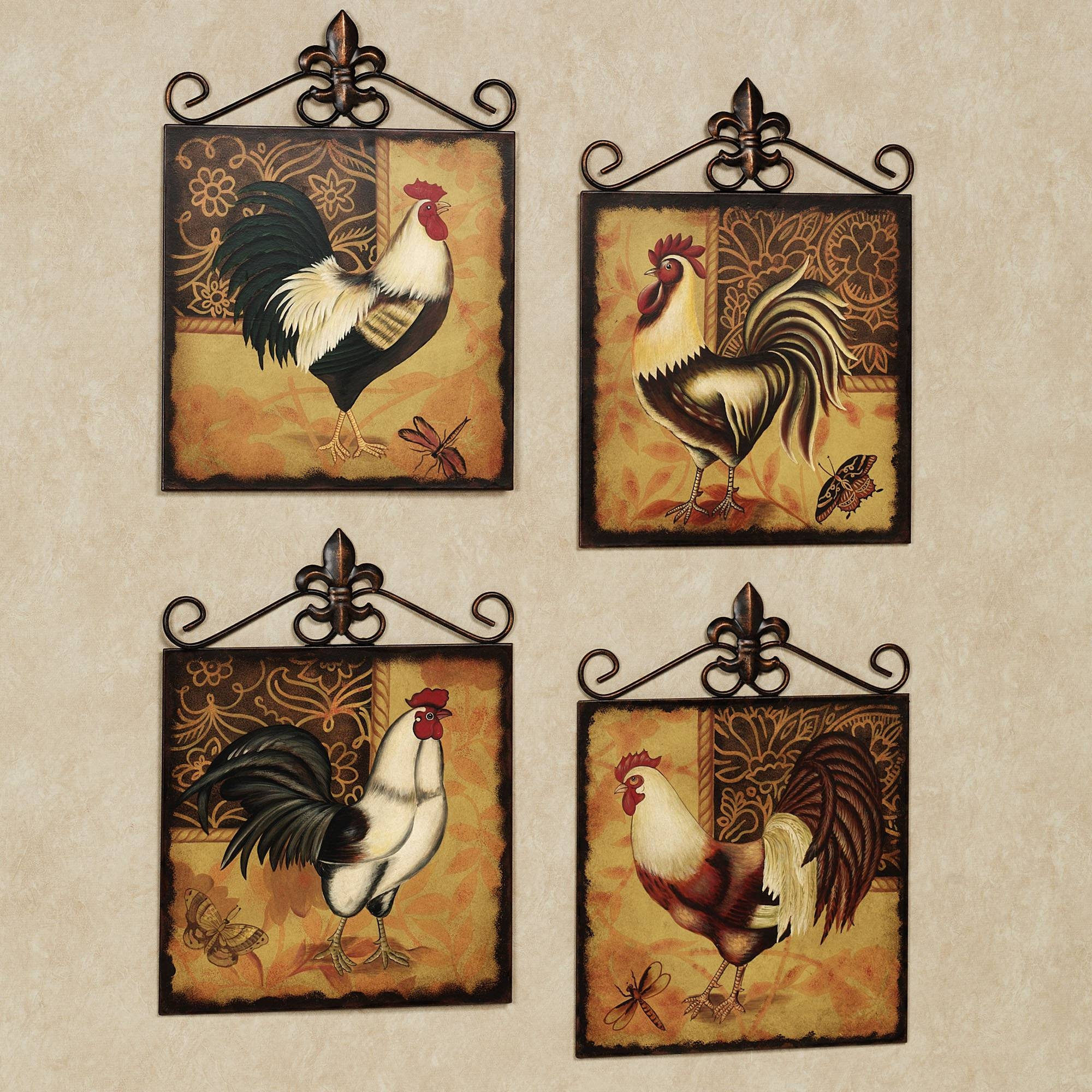 Rooster Decor Kitchen – Kitchen And Decor Regarding Newest Metal Rooster Wall Decor (Gallery 1 of 25)