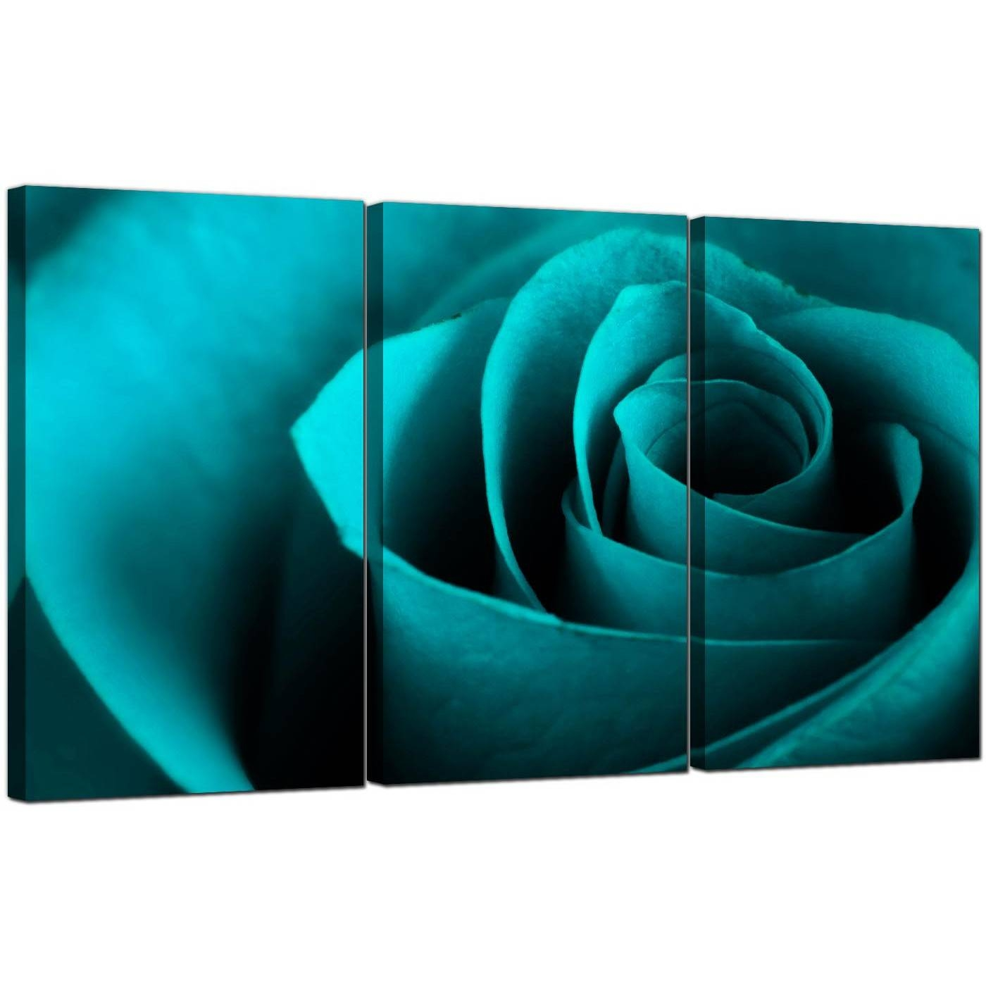 Rose Canvas Art Set Of 3 For Your Living Room With Best And Newest Rose Canvas Wall Art (View 16 of 20)