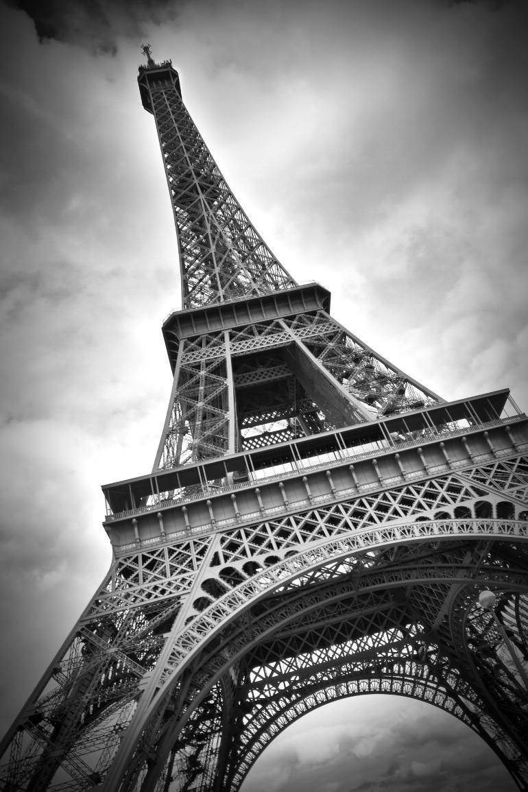Saatchi Art: Eiffel Tower Dynamic Photographymelanie Viola Regarding Most Popular Eiffel Tower Metal Wall Art (View 21 of 30)
