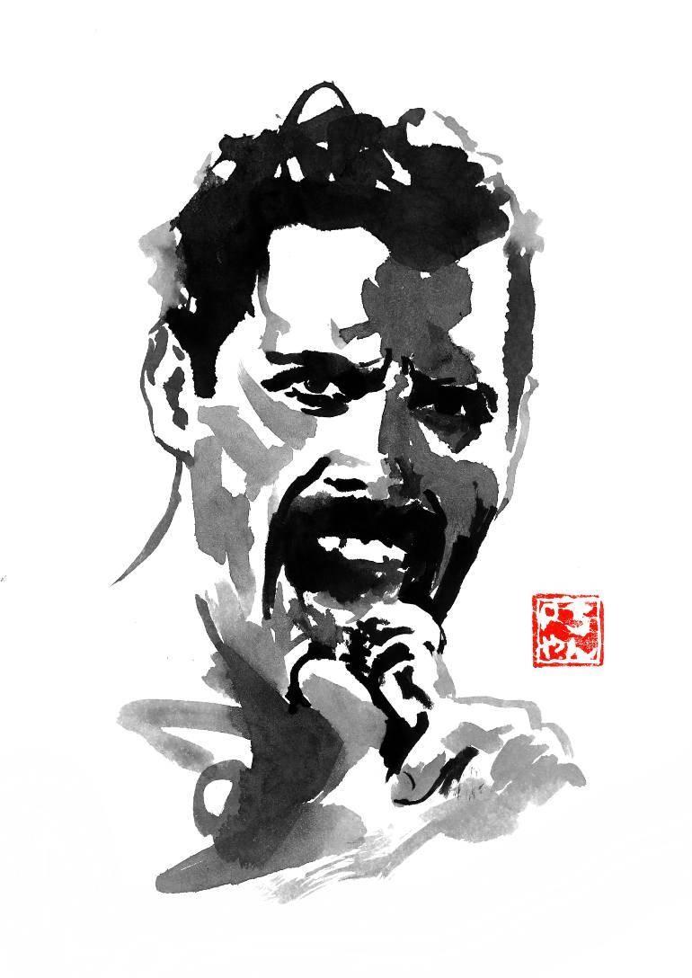 Saatchi Art: Freddie Mercury Paintingpechane Sumie In Recent Freddie Mercury Wall Art (View 11 of 15)