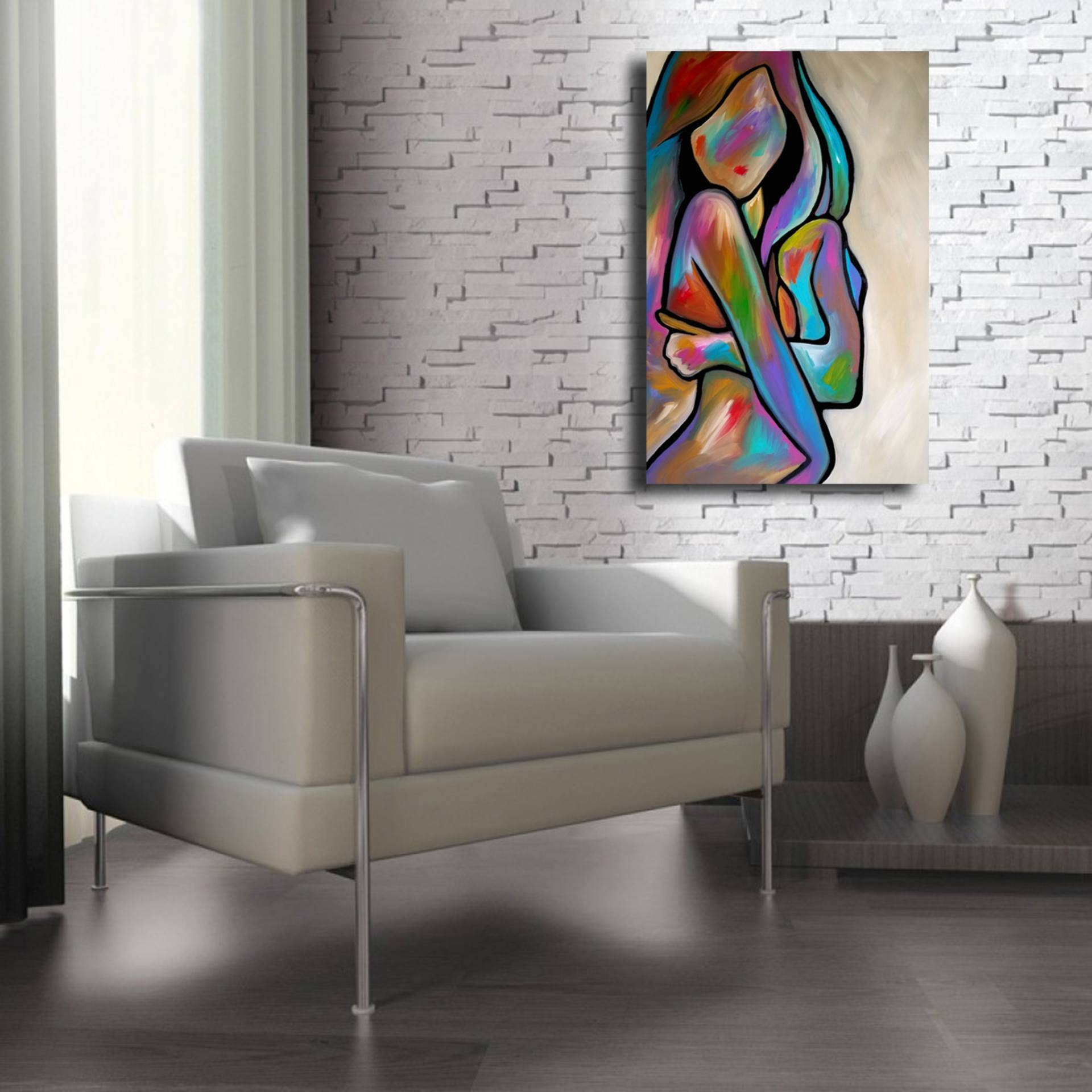 Saatchi Art: Sensual Calm Paintingthomas Fedro For Latest Sensual Wall Art (View 11 of 20)