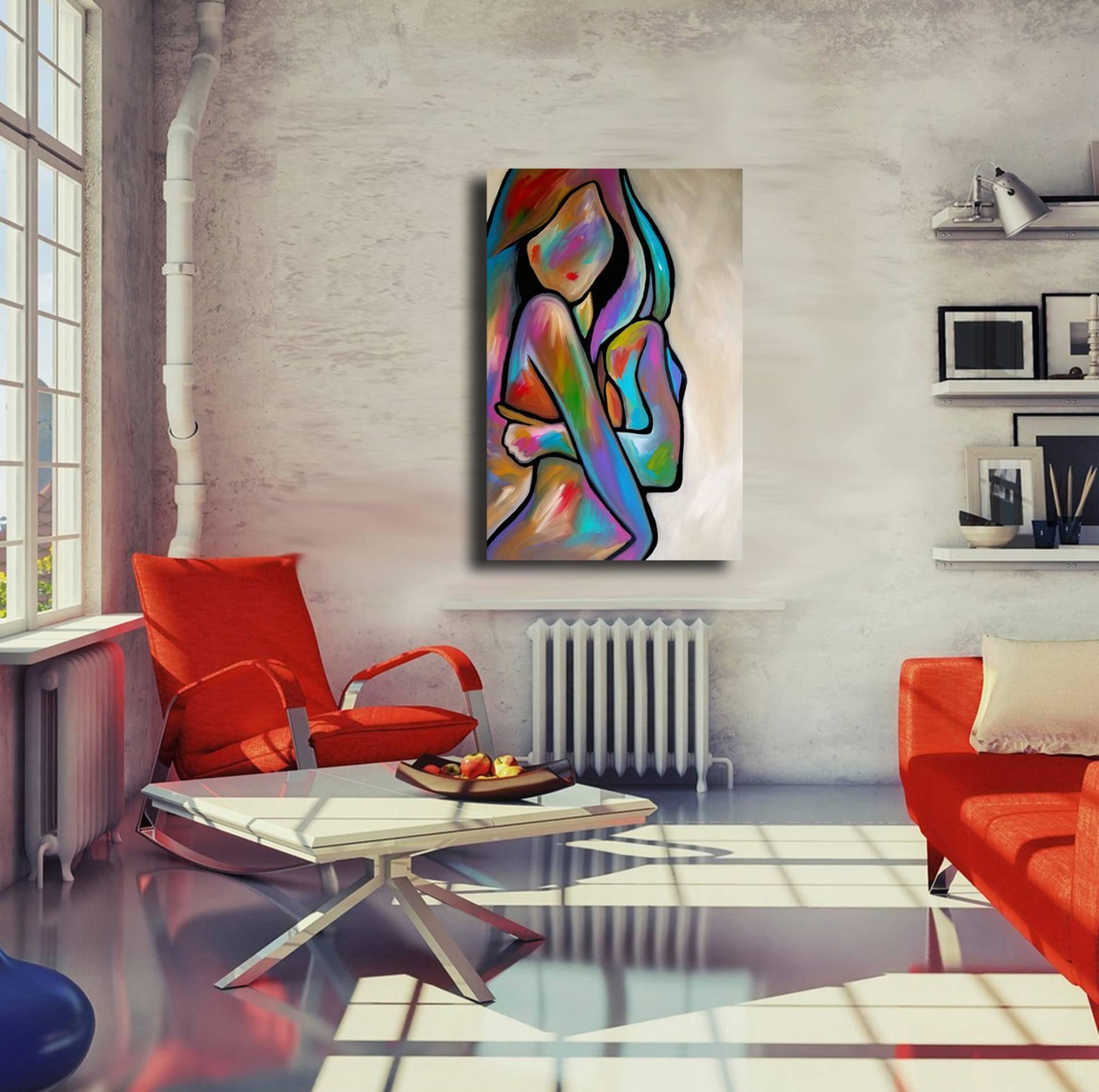 Saatchi Art: Sensual Calm Paintingthomas Fedro Throughout 2018 Sensual Wall Art (View 12 of 20)