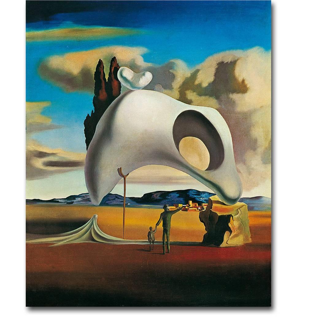 Salvador Dali Artwork Art Silk Poster Print 13X16 24X30 Inch Within Current Salvador Dali Wall Art (View 16 of 20)